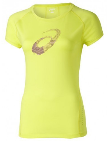 CAMISETA MANGA CORTA ASICS GRAPHIC TOP SUNSHINE YELLOW