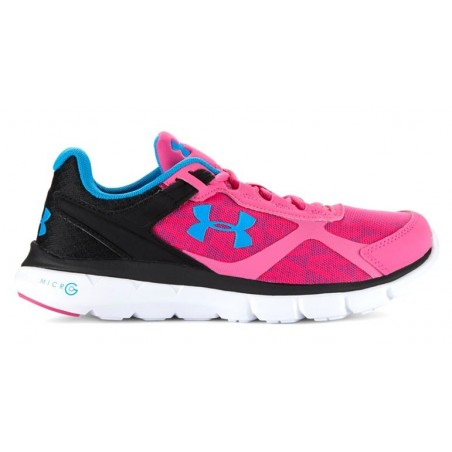 ZAPATILLAS RUNNING UNDER ARMOUR MICRO G VELOCITY RN -Fucsia/Negro-