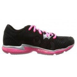 ZAPATILLA RUNNING UNDER ARMOUR MICRO G NEO MANTIS -Negro/Rosa-