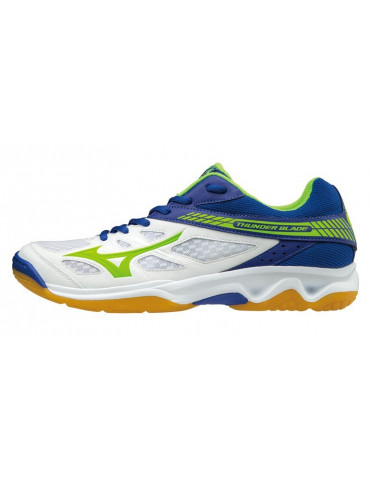 ZAPATILLAS INDOOR MIZUNO THUNDER BLADE BLANCO-AZUL