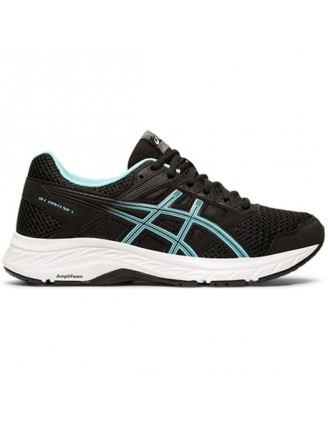 ZAPATILLAS RUNNING ASICS GEL CONTEND 5 NEGRO