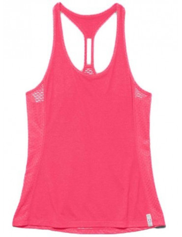 CAMISETA SIN MANGAS UA RUNNING FLY BY STRETCH MESH TANK -Fucsia-