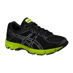 ZAPATILLA RUNNING ASICS GEL GT-1000 4 GS -Black/Onyx/Yellow-
