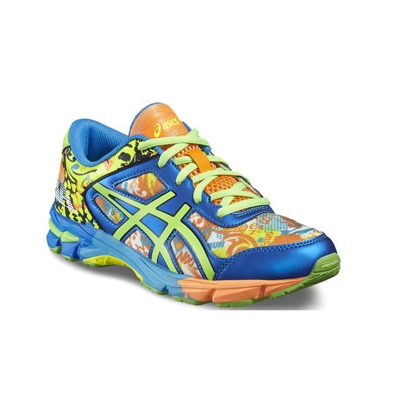 zapatillas running asics multicolor