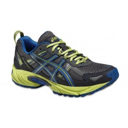 ZAPATILLAS TRAIL GEL VENTURE 5 GS GRIS/AZUL