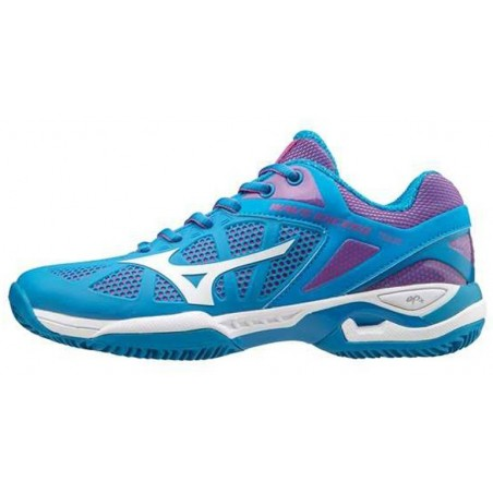 ZAPATILLAS PADEL MIZUNO WAVE EXCEED TOUR W AZUL