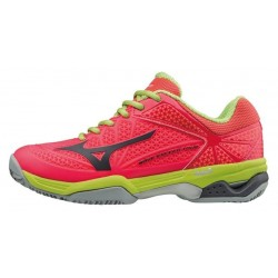 ZAPATILLAS PADEL MIZUNO WAVE TWISTER TOUR 2 CC CORAL