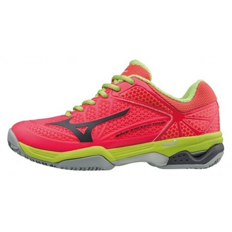 ZAPATILLAS TENIS MIZUNO WAVE TWISTER TOUR 2 CC CORAL