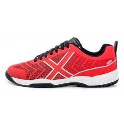 ZAPATILLAS PADEL MUNICH SMASH ROJO/BLANCO