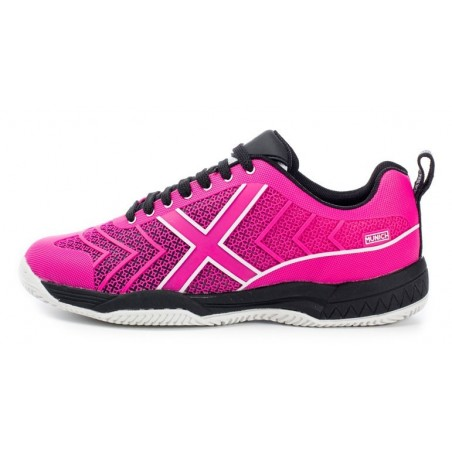 ZAPATILLAS TENIS MUNICH SMASH FUCSIA-BLANCO