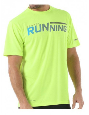 CAMISETA RUNNING JOHN SMITH POTER FLUOR AMARILLO