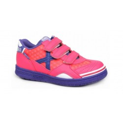 ZAPATILLAS FUTBOL SALA MUNICH G-3.5 X.FEEL FUCSIA