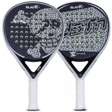 PALA PADEL JUST TEN BLACK K EVO 2019