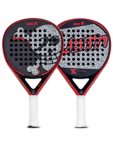 PALA PADEL JUST TEN RED K EVO 2019